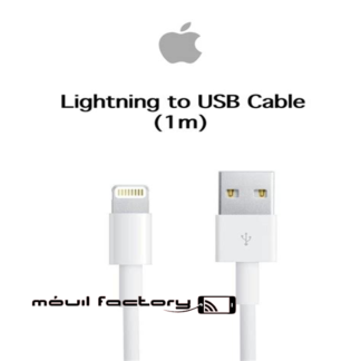 Cable carga lightning apple